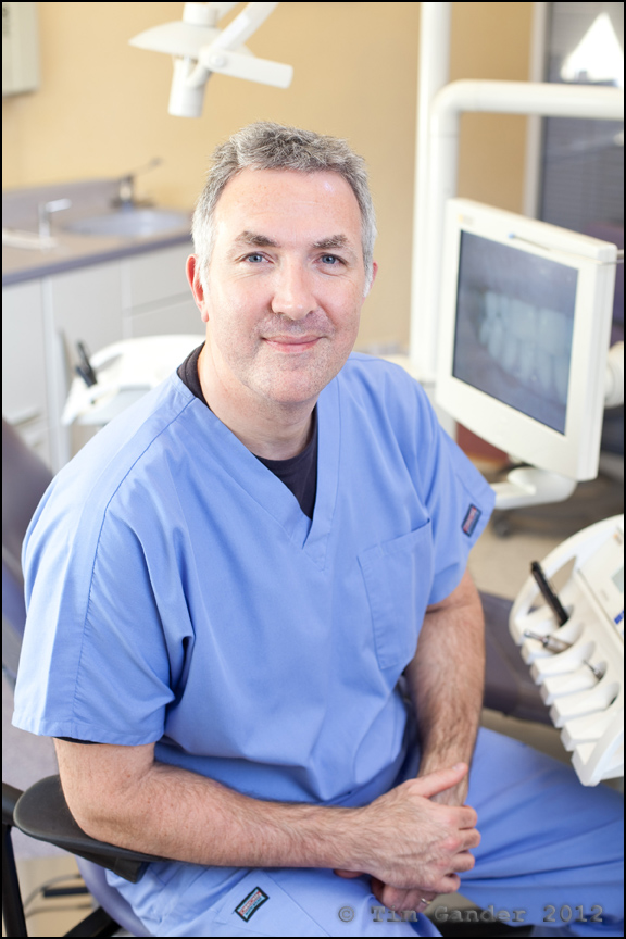 Dental practitioner Dr Ian Bellamy of Aquae Sulis, Bath