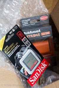 SanDisk memory card and Hähnel battery arrive from Clifton Cameras in Bristol for review